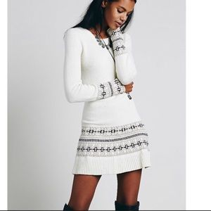 NWT Knitz For Love And Lemons Sweater dress